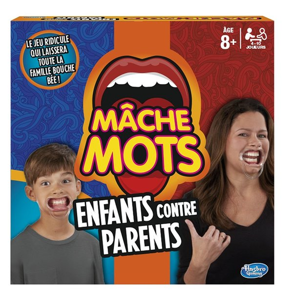 Hasbro Gaming - Mâche-Mots Enfants Contre Parents - C31451010