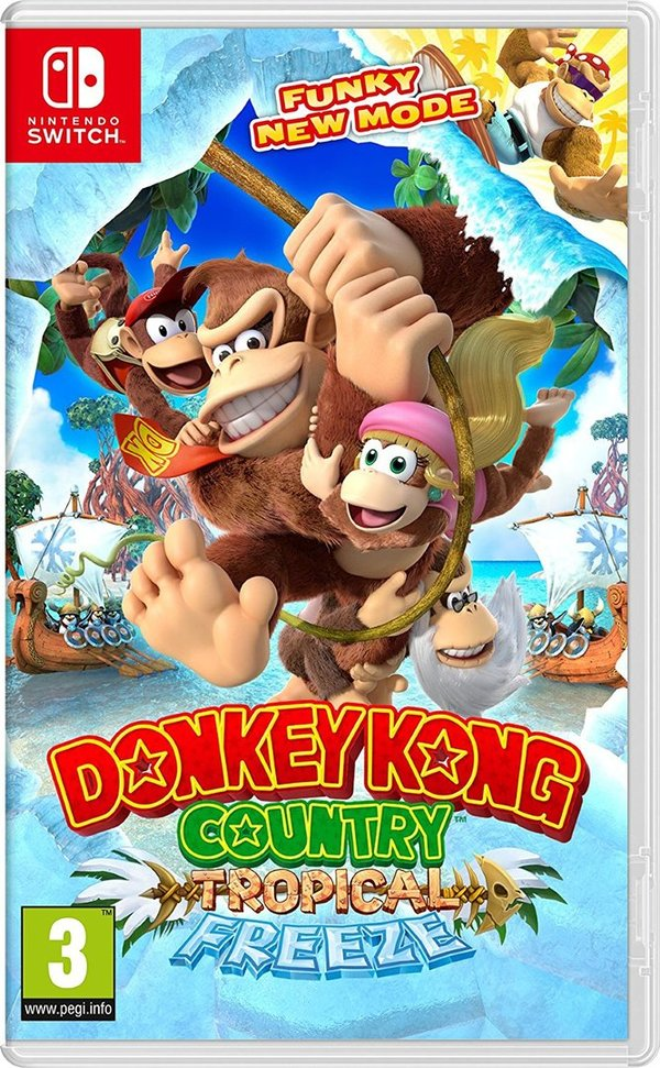 Donkey Kong Country: Tropical Freeze de Nintendo