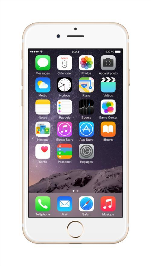 Apple iPhone 6 128 Go 4.7'' Or