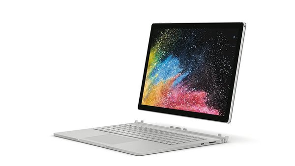 "Microsoft Surface Book 2, 13,5"" Argent (Core i5, 8Go de RAM, 128Go, Windows 10 Pro) - Calvier AZERTY"