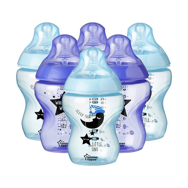 Tommee Tippee Catch Me Quick Biberon Garçon 6 x 260 ml