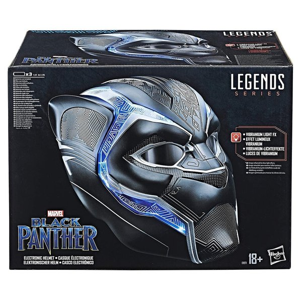Marvel Avengers - Legend Series - Casque Black Panther Collector - E1971