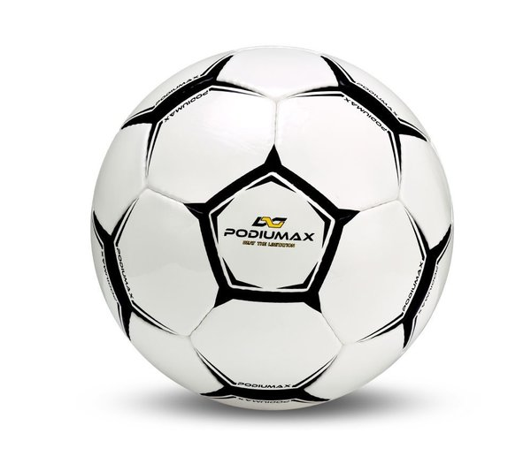 Ballon de football, sport indoor - Noir & blanc - Taille 5